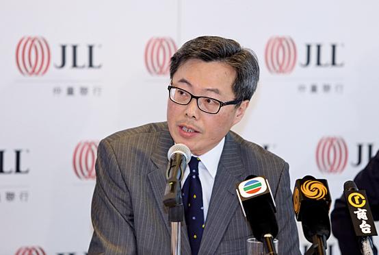仲量聯行董事總經理兼資本市場部主管曾煥平。(余鋼/大紀元)
