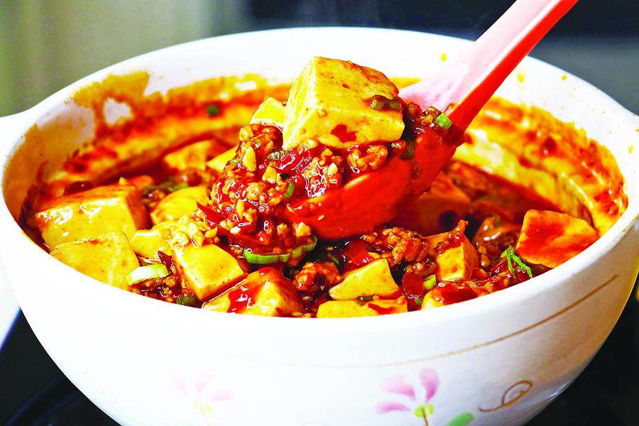麻婆豆腐的家常做法