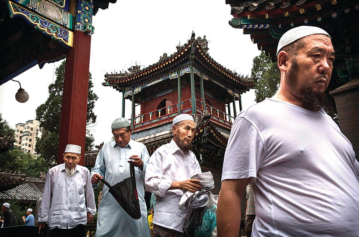 生活在北京的回族穆斯林。(Getty Images)