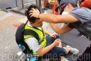 【9.29反極權組圖】警察暴力驅散 港人齊心協力抗爭
