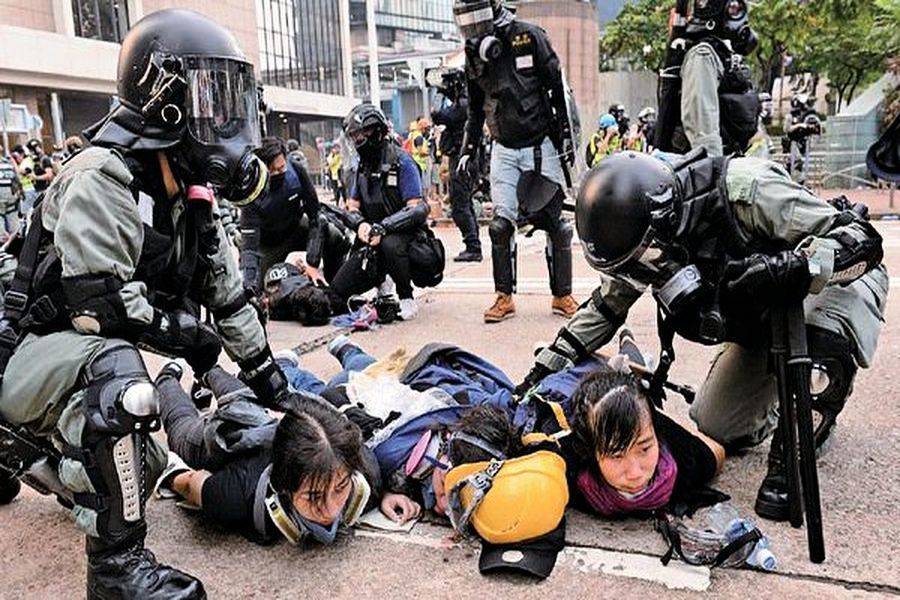十一前夕 香港藝人王宗堯等多人被抓捕