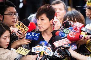 何韻詩遭統促黨人潑漆 學者:破壞台灣民主