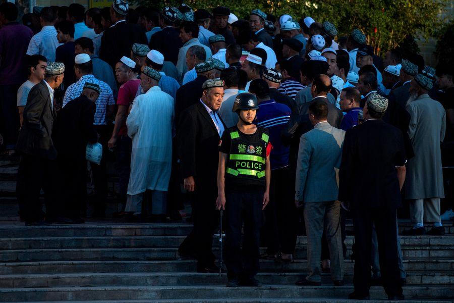 中共通過集中營的方式,大規模迫害新疆維吾爾族的情況,引發國際關注。圖為示意照。(AFP)