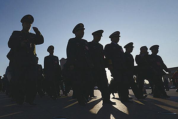 北京清華大學的維穩報告,缺失關鍵內容。(AFP)