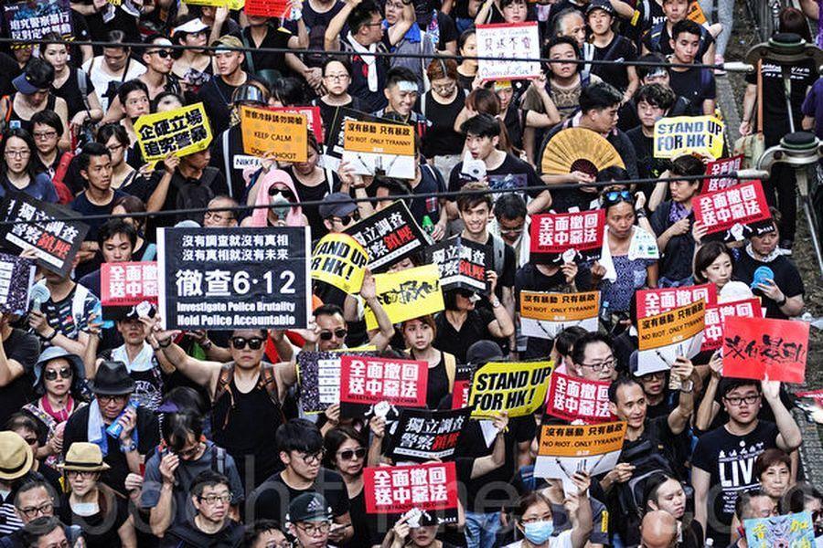 南山王子:北京的焰火和香港的怒火
