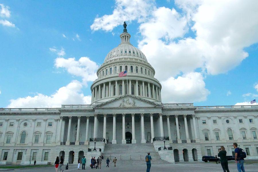 9月26日,「共產主義受難者基金會」在美國聯邦參議院大樓舉行了年度「中國論壇」活動。圖為美國國會大廈。(李辰/大紀元)