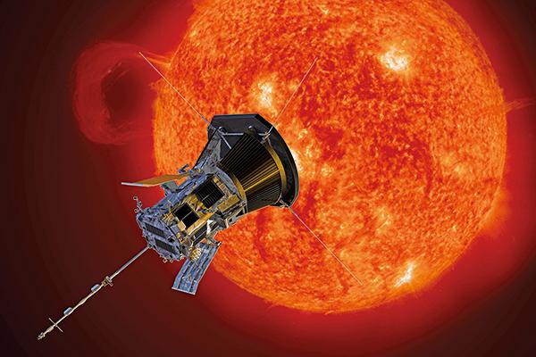 派克太陽探測器示意圖。(NASA)