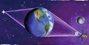 新研究 以地球做巨型放大鏡觀察天體