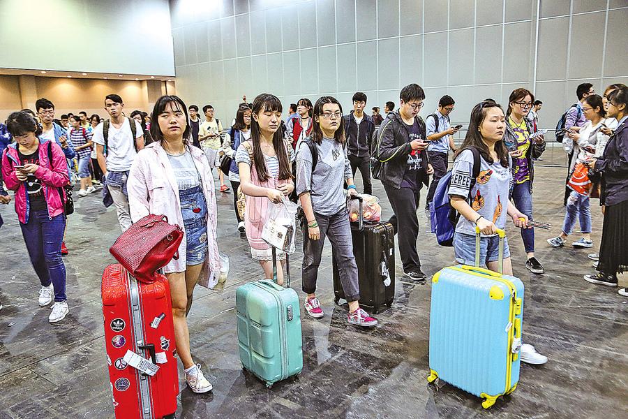 大陸學生面對留學的苦戰