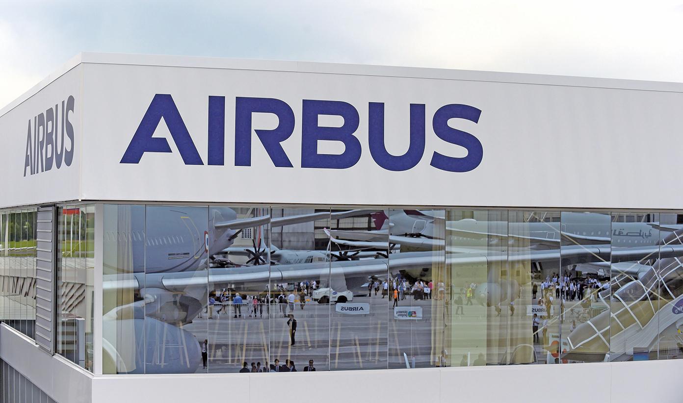 美國與歐盟間的爭端,起因於雙方對波音(Boeing)和空中巴士(Airbus)的補貼爭議。(AFP)
