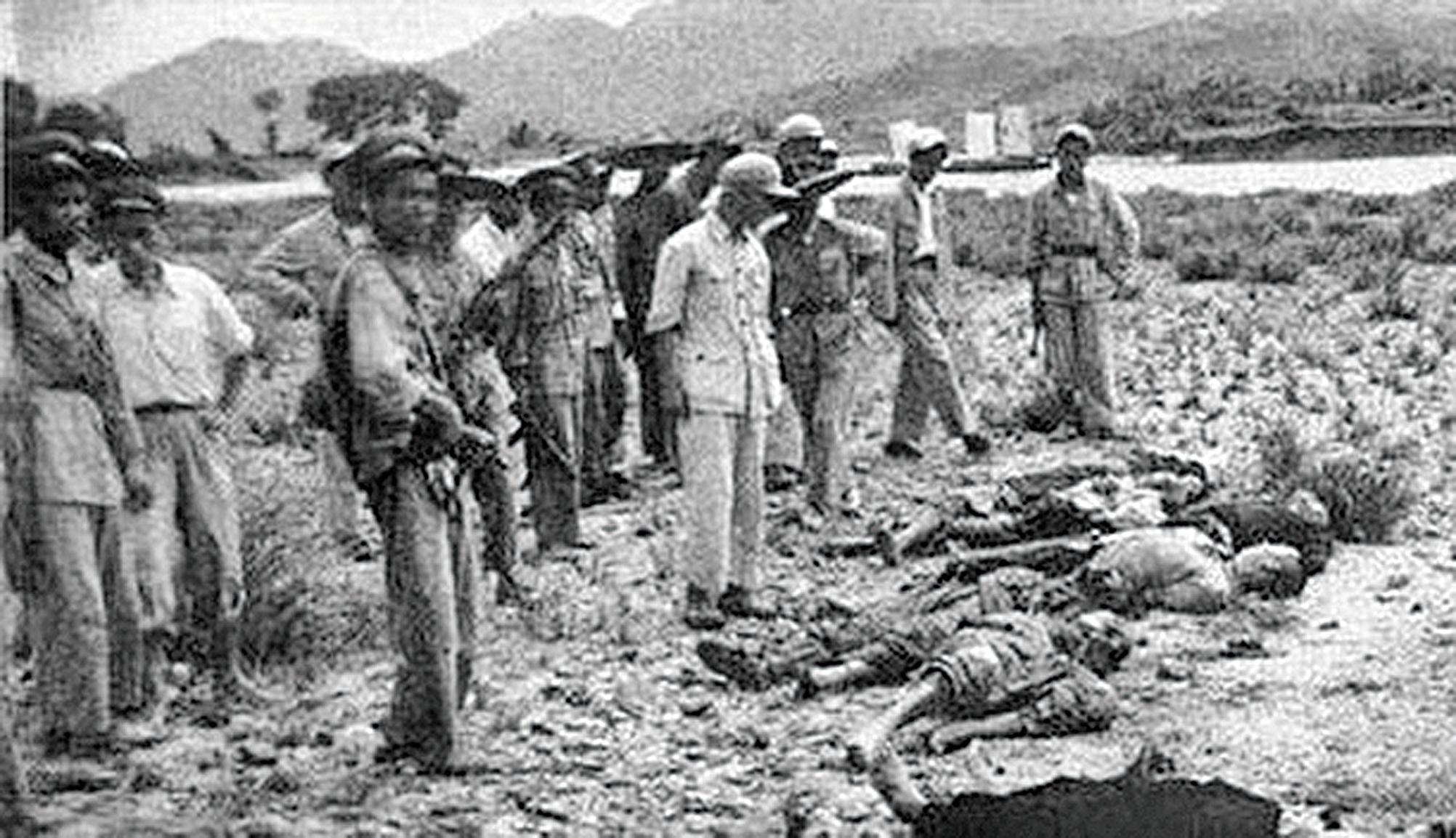 鎮反、肅反、反右、大饑荒、文革、六四、法輪功,中共篡政70年殺人數千萬。(網絡圖片)