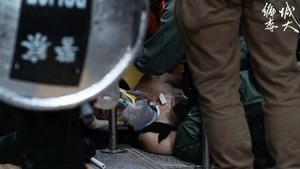 學生十一抗爭被槍擊輿論嘩然 港警一天前發殺人預告