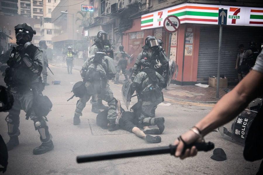 港警槍傷中學生震動國際 歐盟英國及台灣譴責