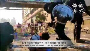 香港急救人員被暴力拘捕 疑手臂被折斷