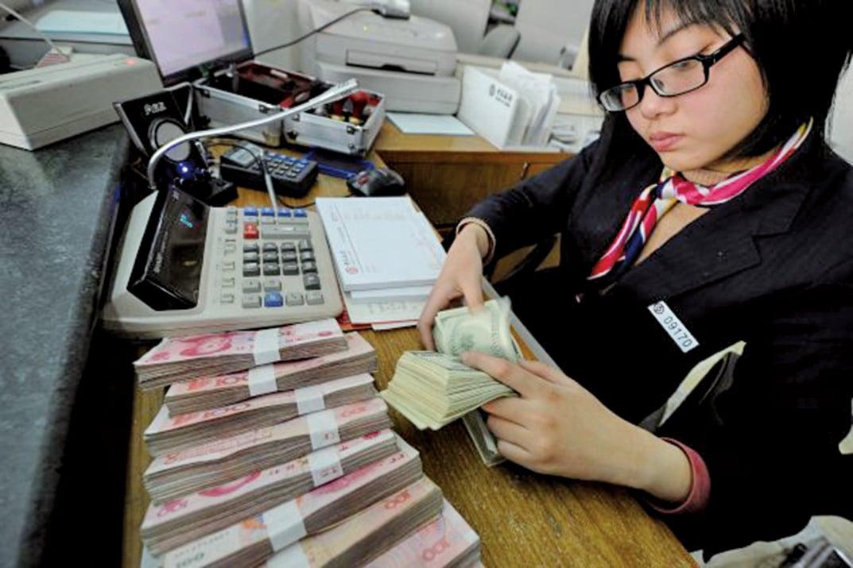 中國恆大現金流轉負,不得不重新靠借貸支撐現金流。(AFP)