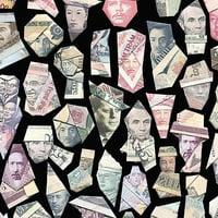 鈔票可以摺成藝術品? 藝術家讓總統們活了起來