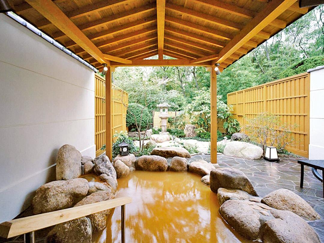 日本眾多溫泉地各具特色,圖為有馬溫泉。