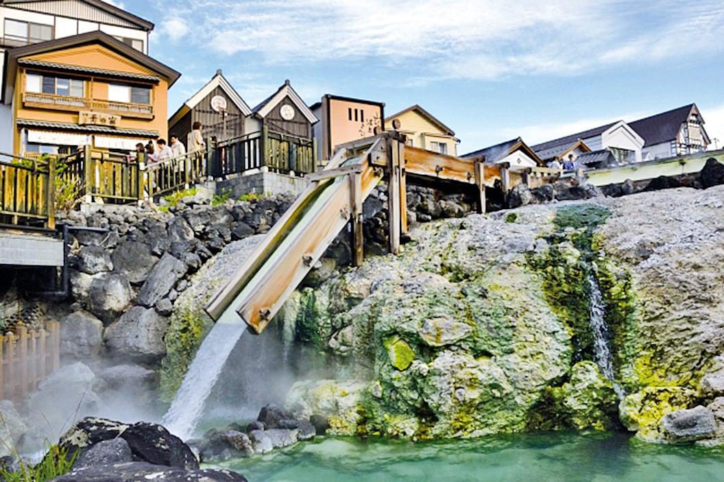 草津溫泉。