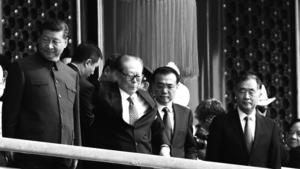 江澤民天安門上消失半小時惹關注 傳北京早有死亡預案