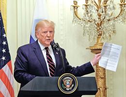 特朗普抨擊彈劾調查是「政變」