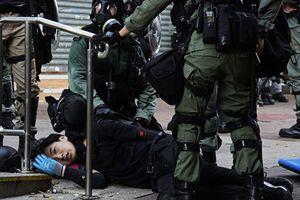 近距離槍擊港抗爭學生 警署警長曾家輝被曝光