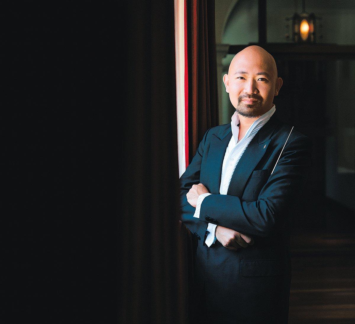 香港指揮家兼鋼琴家曾智斌(Jimmy Chiang)(受訪者提供)