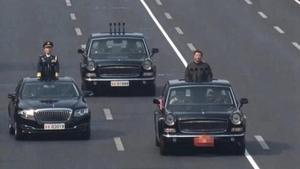 習近平身後緊跟「靈車」?外媒評北京閱兵異象