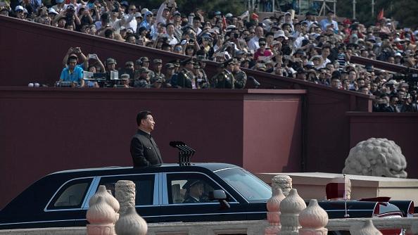 北京「十一」閱兵,美媒警告:中共極中共極權統治權統治埋下覆亡種子。(Kevin Frayer/Getty Images)