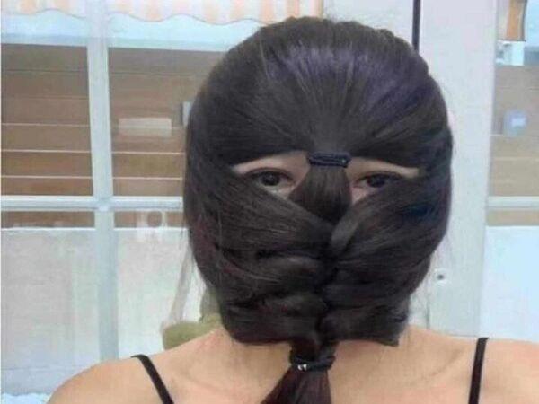 造型編髮。(臉書「美到沒朋友」)
