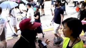 「戴上口罩」抗《禁蒙面法》 市民:林鄭只是傀儡 操控警察亂港的是中共