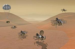 NASA將派無人機登陸土衛六