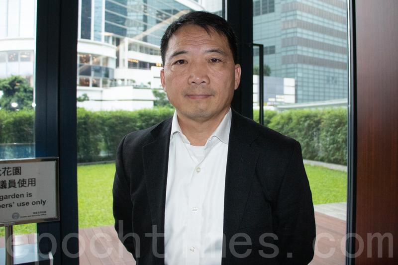 立法會議員胡志偉表示香港這種抵抗威權、抵抗專權、抵抗暴政的人民的行動,一定會持續下去。(大紀元資料圖片)