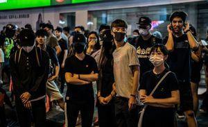 法媒:香港禁蒙面實施很困難 北京玩火自焚