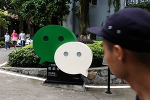 在港陸人同情香港抗爭者 遭微信起底