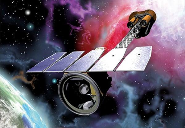 NASA的「X射線偏振成像測量儀」示意圖。(NASA)