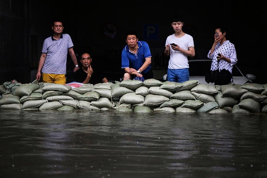 中國南方洪災氾濫 又一颱風逼近