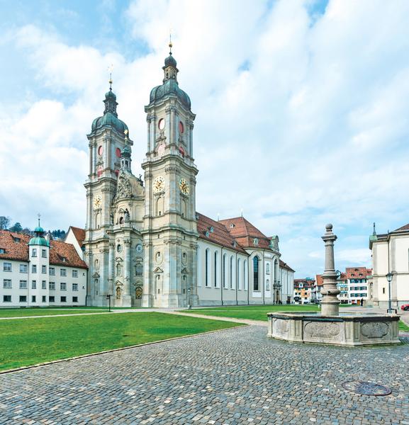 步上紅毯 走進瑞士聖加侖