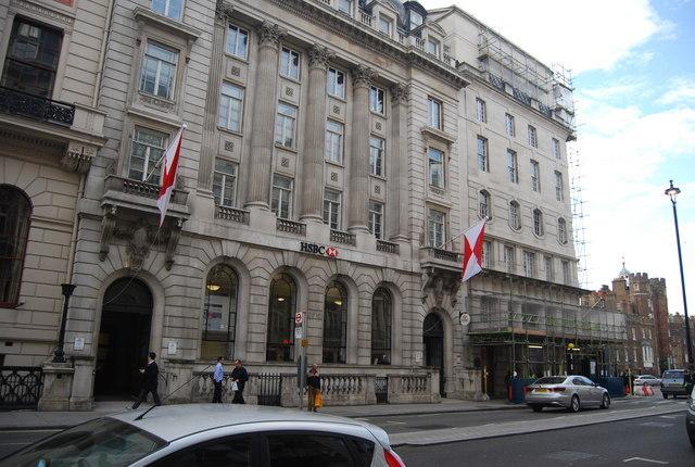 有英媒披露,匯豐銀行計劃將在全球範圍內裁員1萬人。(Getty Images)