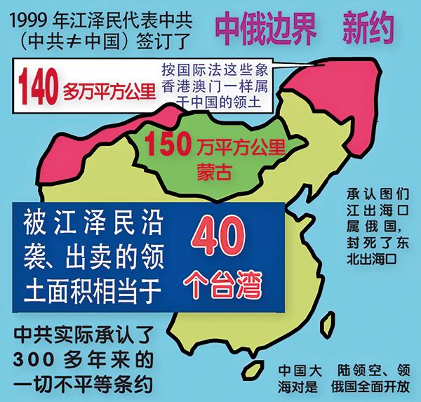 遲浩田披露中共出賣大面積北方領土(上)