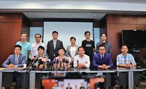 民主派議員猛批 禁蒙面法推行後香港現亂局