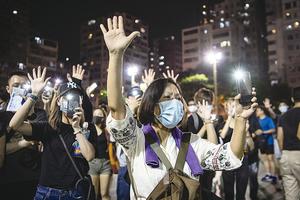 禁蒙面法生效  未來局勢十大預測 (上)