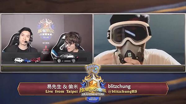 香港電競選手blitzchung因在賽後勝利訪問時,以普通話高呼「光復香港,時代革命」,被暴雪娛樂隨實施一系列懲處。(影片擷圖)