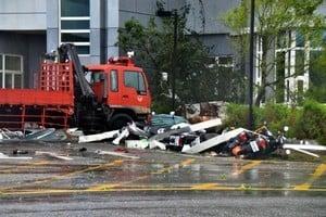 颱風尼伯特襲台 造成2死72傷