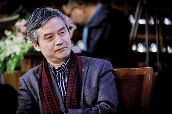 北京大學法學院教授賀衛方被中共噤聲,不許他在社交媒體發表言論。近日被微信永久封號。(大紀元資料室)