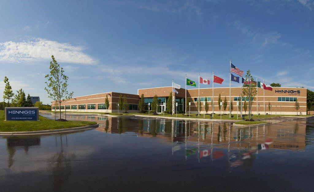 瀚德(Henniges Automotive)位於美國密歇根州奧本山市的總部(圖片:Henniges Automotive)