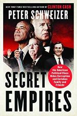 保守派作家皮特施韋澤在2018年發表新書《秘密帝國:美國政治權貴如何隱密腐敗並為裙帶牟利》