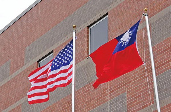 基於共同的價值觀和社會制度,中共越打壓台灣,美國越力挺台灣。」(中央社)