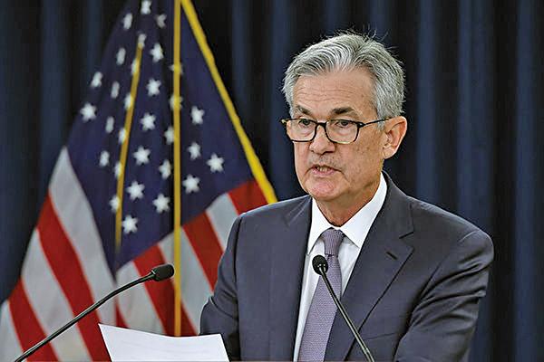 美聯儲2019年9月18日宣佈再次減息。圖為美聯儲主席傑羅姆鮑威爾(Jerome Powell)。(Olivier Douliery / AFP)