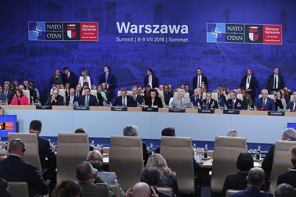 7月7日,北約首腦會議在波蘭華沙舉行。(Sean Gallup/Getty Images)