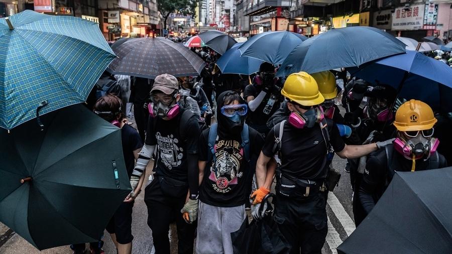 香港《禁蒙面法》魔鬼細節 震驚美國憲法專家